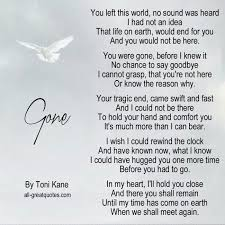 Image result for toni kane dad poems | Grieving quotes, Dad poems, Grief  poems