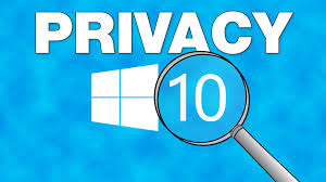 Image result for privacy windows 10