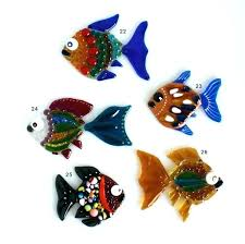 fish decoration ideas fused glass small designs bowl centerpiece weddings tank diy