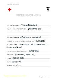 Sick Doctors Note Template Doctors Note For Work Word Template Fake Templates School Printable