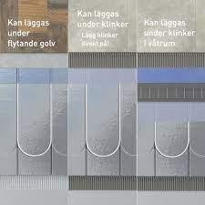 flooré underfloor heating panels
