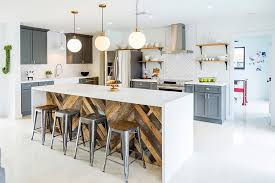 give your industrial kitchen a softer modern appeal design re818