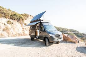 This new roof rack was designed to work around the most common vent sizes and locations. 2020 4x4 Mercedes Sprinter World Traveling Expedition Vehicle Campovans