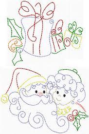Christmas Swirls Christmas Swirls I