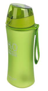 "<b>Бутылка</b> ""<b>H2O</b>"", на браслете, цвет: зеленый, 480 мл по выгодной ..."