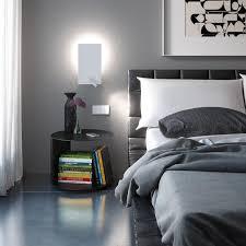 lighting sconces for living room. Garage Cute Modern Bedside Wall Lights 2 Sconces Light Shining White Lamp Above Unique Table Books Lighting For Living Room