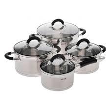 <b>Набор посуды NADOBA</b> OLINA со стеклянными крышками, 8 ...