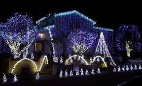 christmas lighting decoration. Many Of The Homes On Nellie Gail Road And Surrounding Streets Do Elaborate Displays That Light Up Neighborhood. Free. Road, Laguna Hills Christmas Lighting Decoration