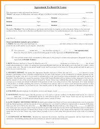 lease abstract template 9 lease agreement template free abstract sample