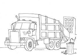 Small Picture garbage truck coloring pages free Google Search spring show