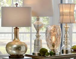 tall mercury glass table lamps