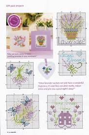 320 Best Cross Stitch Lavender Images On Pinterest Embroidery
