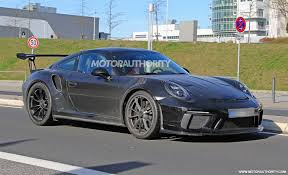 2018 porsche 911 gt3 rs.  porsche 2018 porsche 911 gt3 rs spy shots and video for porsche gt3 rs
