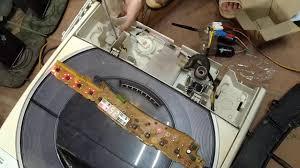 Máy giặt panasonic inverter báo lỗi H01 và H 09 - YouTube