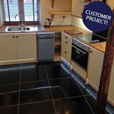 ... Black Sparkle Quartz Tiles X Mm Black Floor: Large Size ...