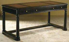 black office table. Wood Office Desk With Drawers Black Table