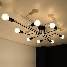 details about flush mount ceiling lights black pendant lighting large chandelier bar led lamp