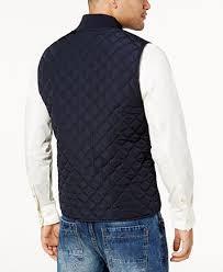 Sean John Men's Big & Tall Quilted Vest - Coats & Jackets - Men ... & Image 2 of Sean John Men's Big & Tall Quilted Vest Adamdwight.com