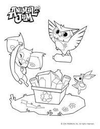 Small Picture Animal Jam Coloring Pages Celebrate spring and the environment