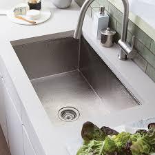 brushed nickel sink.  Brushed Cocina Hammered Brushed Nickel 30inch Undermount Kitchen Sink   Nickel To E