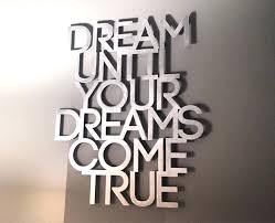 ingenious design ideas dream wall decor word and e decals brilliant inspiration of dreamcatcher big