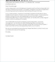 High School Student Cover Letters Template Cover Letter Example