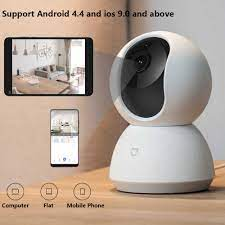 Güncelleme sürümü Xiaomi Mijia 1080P HD akıllı IP kamera WiFi Pan tilt gece  görüş 360 açı Video kamerası bebek güvenlik monitör|360° Video Camera