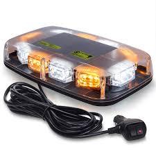 Mirror Emergency Lights Amazon Com Linkitom Led Strobe Warning Light 30 Led High