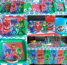 Pj Mask Party Decoration Ideas PJMASKSTablejpgsha=10000ef10000ed10000dea100 52