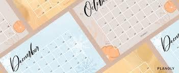 Q4 2019 Content Calendars Planoly