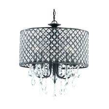 black drum chandelier black drum chandelier with crystals black drum shade chrome drum chandelier with crystals