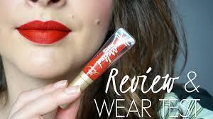 <b>Too Faced Melted Matte</b> Liquid Lipstick - REVIEW & WEAR TEST ...