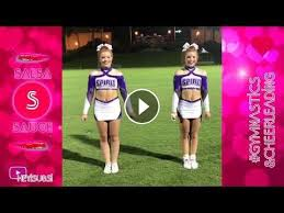 best flexibility and gymnastics skills on salsa sauce this people are awesome if you want see more cheerleading videos please leave like and subscri
