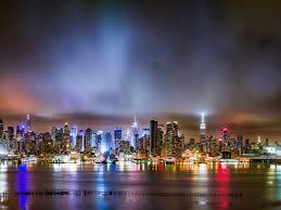 New York City Landscape Night Time ...