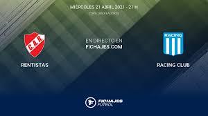Sports mole previews wednesday's copa libertadores clash between racing club and rentistas, including predictions. Resultados Rentistas Racing Club 1 1 Primera Jornada De Copa Libertadores 2021 22 4 Resumen Goles