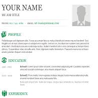 Copy And Paste Resume Templates Stunning Copy Paste Resume Template Resume Template
