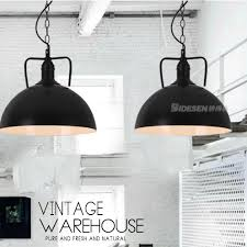 country pendant lighting. American Country White/Black Hanging Lamps Vintage Industrial Pendant Lights Fixture Home Dining Room Restaurant Lighting