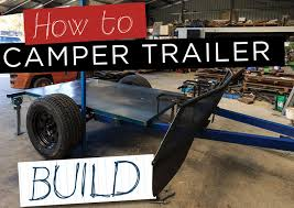 unsealed 4x4 how to camper trailer build