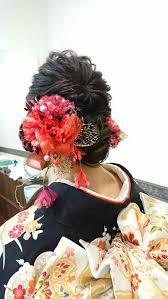 和装 髪型 ヘアアレンジ を紹介 Cheerful Weddingのブログ