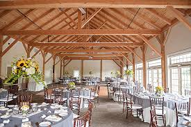 pa glasbern wedding l tables bright reception venue in white with yellow sunflowers glasbern fogelsville