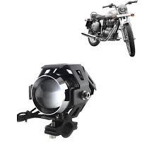 Kandid U5 Led Motorycle Fog Light Bike Projector Auxillary