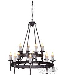 mikki rustic iron chandelier house for rustic metal candle holder