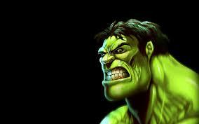 super 3d green hulk image