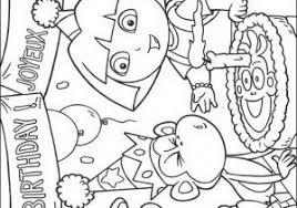 Dora Kleurplaat Kerst Woyaoluinfo