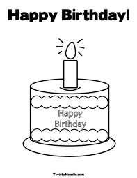 Small Picture 12 best Birthday coloring images on Pinterest Draw Coloring