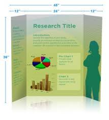 Presentation Trifold Tri Fold Poster Poster Presentation Is A Graphically Oriented