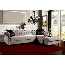Hokku Designs Furniture Hokku Designs Hartmann Premium Tufted Sectional Sofa