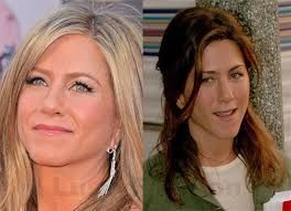 jennifer aniston with and without makeup
