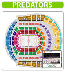 Bradley Center Detailed Seating Chart 46 Scientific Bridgestone Predators Seating Chart