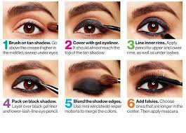 skin makeup and ideas with makeup step by step instructions with dramatic eye makeup step by